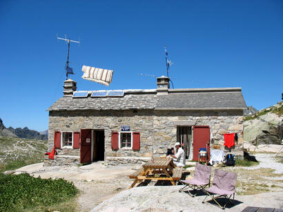 Refuge d'Arrémoulit (Crédit photo François Brès)