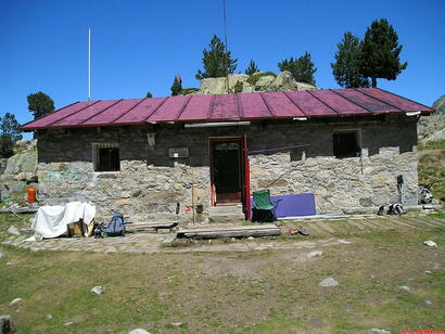 Refugio Saborèdo (Crédit photo pirineos3000.com)