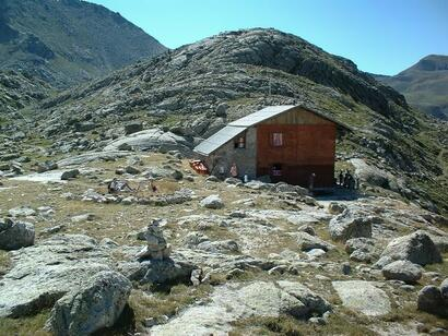 Refugio Colomina (Crédit photo casacota.cat)