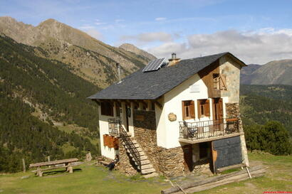 Refugio Pla de la Font (Crédit photo pirineos3000.com)